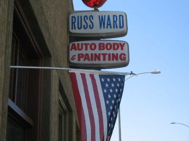Russ Ward Auto Body Est. 1958